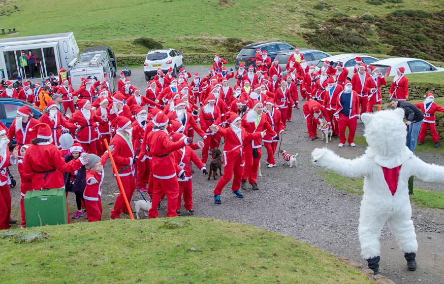 Clwydians Santa 5k